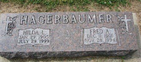 HAGERBAUMER, FRED A. - Washington County, Nebraska | FRED A. HAGERBAUMER - Nebraska Gravestone Photos