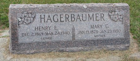 HAGERBAUMER, HENRY E. - Washington County, Nebraska | HENRY E. HAGERBAUMER - Nebraska Gravestone Photos