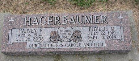 REWINKEL HAGERBAUMER, PHYLLIS MAE - Washington County, Nebraska | PHYLLIS MAE REWINKEL HAGERBAUMER - Nebraska Gravestone Photos