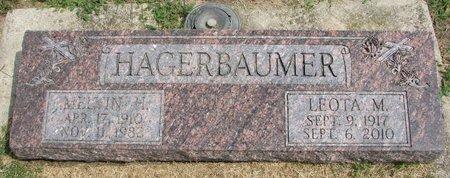 HAGERBAUMER, LEOTA MARTHA MARIE - Washington County, Nebraska | LEOTA MARTHA MARIE HAGERBAUMER - Nebraska Gravestone Photos
