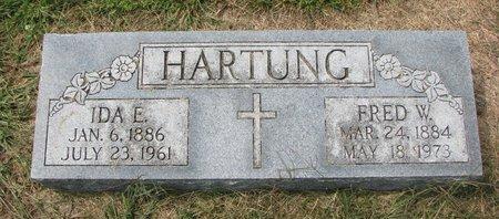 PANNING HARTUNG, IDA E. - Washington County, Nebraska | IDA E. PANNING HARTUNG - Nebraska Gravestone Photos