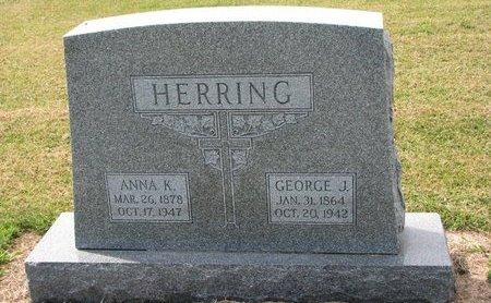 HERRING, ANNA K. - Washington County, Nebraska | ANNA K. HERRING - Nebraska Gravestone Photos