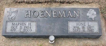 HOENEMAN, IONE L. - Washington County, Nebraska | IONE L. HOENEMAN - Nebraska Gravestone Photos