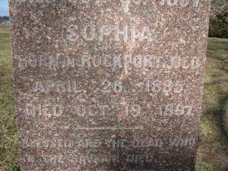JOHANSENN, SOPHIA (CLOSE UP) - Washington County, Nebraska | SOPHIA (CLOSE UP) JOHANSENN - Nebraska Gravestone Photos