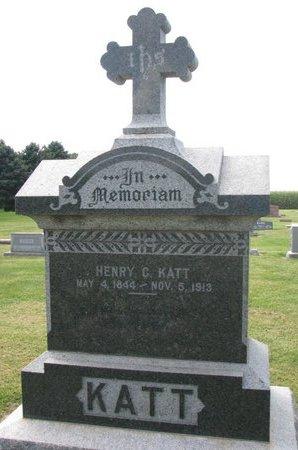 KATT, HENRY C. - Washington County, Nebraska   HENRY C. KATT - Nebraska Gravestone Photos