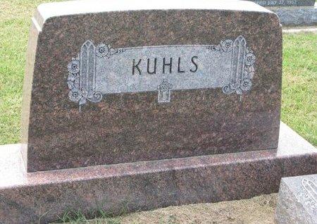KUHLS, *FAMILY MONUMENT - Washington County, Nebraska | *FAMILY MONUMENT KUHLS - Nebraska Gravestone Photos