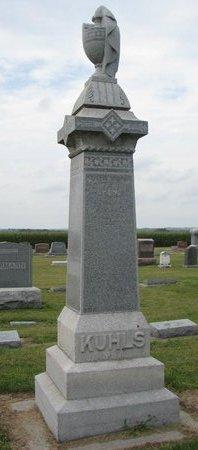 KUHLS, GEORGE #1 - Washington County, Nebraska   GEORGE #1 KUHLS - Nebraska Gravestone Photos