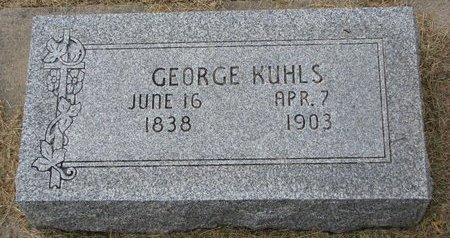 KUHLS, GEORGE #2 - Washington County, Nebraska | GEORGE #2 KUHLS - Nebraska Gravestone Photos