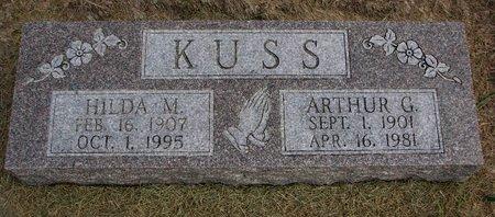 KUSS, HILDA M. - Washington County, Nebraska | HILDA M. KUSS - Nebraska Gravestone Photos
