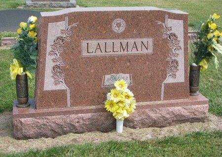 LALLMAN, *FAMILY MONUMENT - Washington County, Nebraska | *FAMILY MONUMENT LALLMAN - Nebraska Gravestone Photos