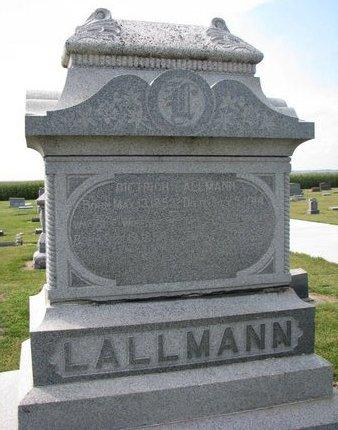 LALLMAN, WIEBKE - Washington County, Nebraska   WIEBKE LALLMAN - Nebraska Gravestone Photos