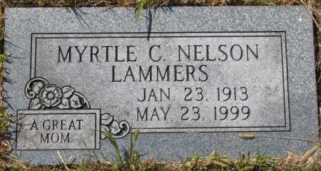 LAMMERS, MYRTLE C. - Washington County, Nebraska | MYRTLE C. LAMMERS - Nebraska Gravestone Photos