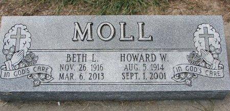 MOLL, HOWARD W. - Washington County, Nebraska | HOWARD W. MOLL - Nebraska Gravestone Photos