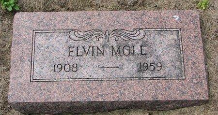 MOLL, ELVIN - Washington County, Nebraska | ELVIN MOLL - Nebraska Gravestone Photos