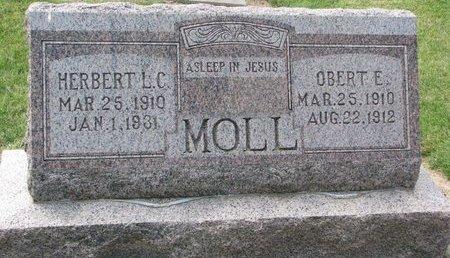 MOLL, HERBERT L.C. - Washington County, Nebraska | HERBERT L.C. MOLL - Nebraska Gravestone Photos