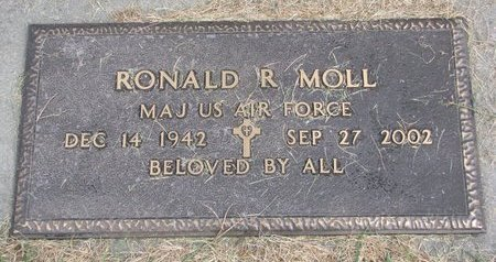 MOLL, RONALD R. - Washington County, Nebraska | RONALD R. MOLL - Nebraska Gravestone Photos