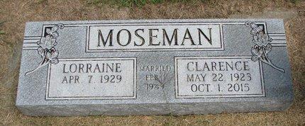 MOSEMAN, LORRAINE - Washington County, Nebraska | LORRAINE MOSEMAN - Nebraska Gravestone Photos