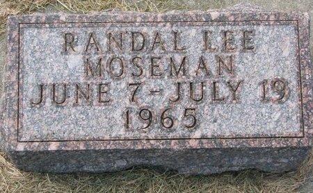 MOSEMAN, RANDAL LEE - Washington County, Nebraska | RANDAL LEE MOSEMAN - Nebraska Gravestone Photos