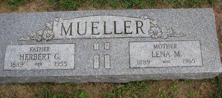 MUELLER, HERBERT G. - Washington County, Nebraska | HERBERT G. MUELLER - Nebraska Gravestone Photos