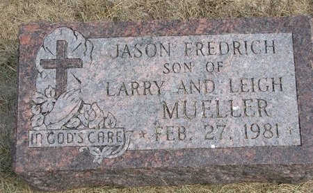 MUELLER, JASON FREDRICH - Washington County, Nebraska   JASON FREDRICH MUELLER - Nebraska Gravestone Photos