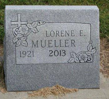 STRUENING MUELLER, LORENE E. - Washington County, Nebraska   LORENE E. STRUENING MUELLER - Nebraska Gravestone Photos