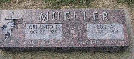 MUELLER, LOIS A. - Washington County, Nebraska | LOIS A. MUELLER - Nebraska Gravestone Photos