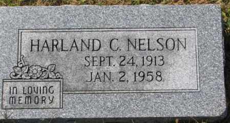NELSON, HARLAND C. - Washington County, Nebraska | HARLAND C. NELSON - Nebraska Gravestone Photos