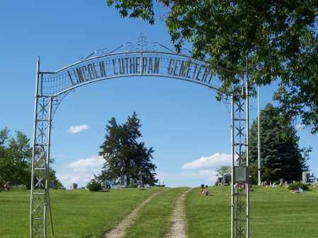 *LINCOLN LUTHERAN CEMETERY, ENTRANCE TO - Washington County, Nebraska | ENTRANCE TO *LINCOLN LUTHERAN CEMETERY - Nebraska Gravestone Photos