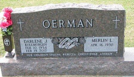 OERMAN, DARLENE JOY - Washington County, Nebraska | DARLENE JOY OERMAN - Nebraska Gravestone Photos