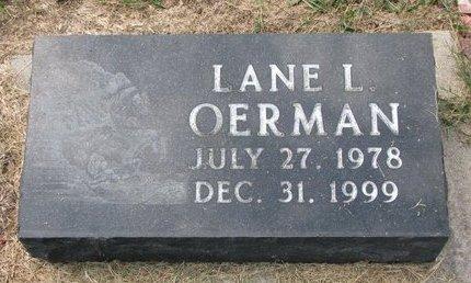 OERMAN, LANE LESLIE - Washington County, Nebraska | LANE LESLIE OERMAN - Nebraska Gravestone Photos