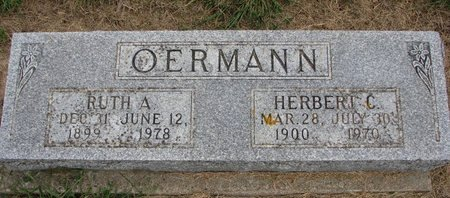 OERMANN, HERBERT C. - Washington County, Nebraska   HERBERT C. OERMANN - Nebraska Gravestone Photos