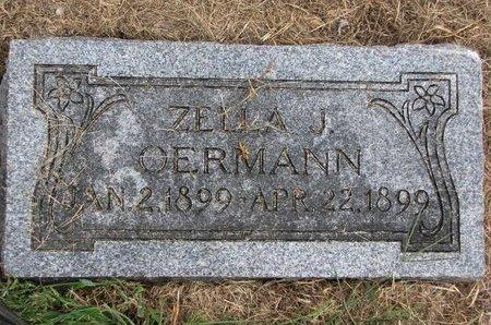 OERMANN, ZELLA J. - Washington County, Nebraska | ZELLA J. OERMANN - Nebraska Gravestone Photos
