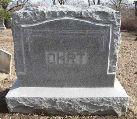 OHRT, (FAMILY MONUMENT) - Washington County, Nebraska | (FAMILY MONUMENT) OHRT - Nebraska Gravestone Photos