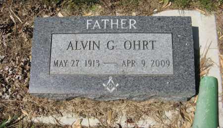 OHRT, ALVIN G. - Washington County, Nebraska | ALVIN G. OHRT - Nebraska Gravestone Photos