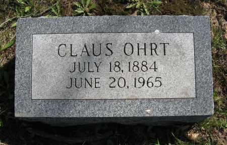 OHRT, CLAUS - Washington County, Nebraska | CLAUS OHRT - Nebraska Gravestone Photos