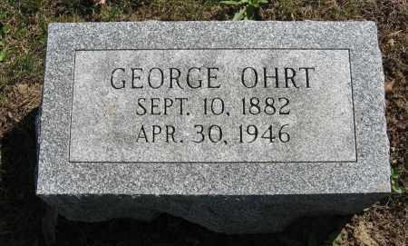 OHRT, GEORGE - Washington County, Nebraska   GEORGE OHRT - Nebraska Gravestone Photos