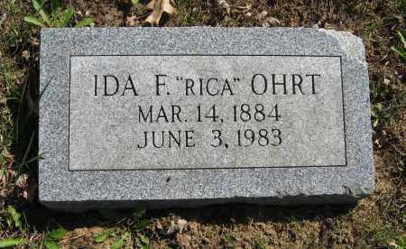 OHRT, IDA F. - Washington County, Nebraska | IDA F. OHRT - Nebraska Gravestone Photos