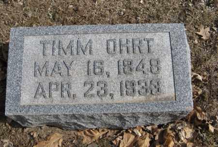 OHRT, TIMM - Washington County, Nebraska | TIMM OHRT - Nebraska Gravestone Photos
