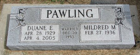 PAWLING, MILDRED M. - Washington County, Nebraska   MILDRED M. PAWLING - Nebraska Gravestone Photos