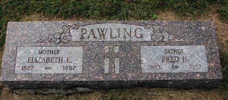 PAWLING, FREDERIC HENRY WILLIAM - Washington County, Nebraska | FREDERIC HENRY WILLIAM PAWLING - Nebraska Gravestone Photos