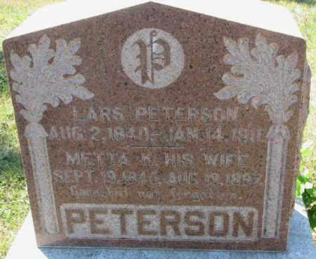 PETERSON, METTA K. - Washington County, Nebraska | METTA K. PETERSON - Nebraska Gravestone Photos