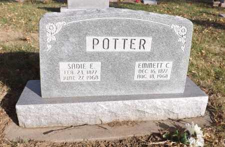 POTTER, SADIE E. - Washington County, Nebraska | SADIE E. POTTER - Nebraska Gravestone Photos
