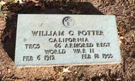 POTTER, WILLIAM C. - Washington County, Nebraska | WILLIAM C. POTTER - Nebraska Gravestone Photos