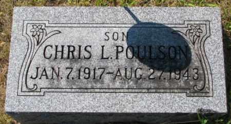 POULSON, CHRIS L. - Washington County, Nebraska | CHRIS L. POULSON - Nebraska Gravestone Photos