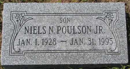POULSON, NIELS N. JR. - Washington County, Nebraska | NIELS N. JR. POULSON - Nebraska Gravestone Photos