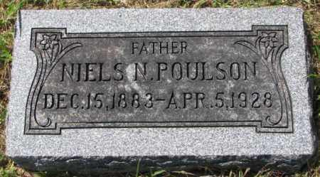 POULSON, NIELS N. - Washington County, Nebraska | NIELS N. POULSON - Nebraska Gravestone Photos