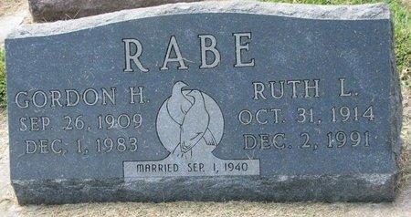 RABE, RUTH L. - Washington County, Nebraska | RUTH L. RABE - Nebraska Gravestone Photos