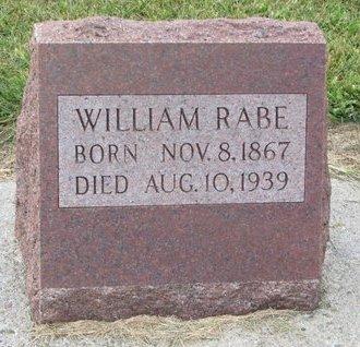 RABE, WILLIAM - Washington County, Nebraska | WILLIAM RABE - Nebraska Gravestone Photos