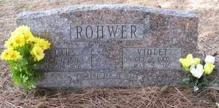 ROHWER, VIOLET - Washington County, Nebraska | VIOLET ROHWER - Nebraska Gravestone Photos