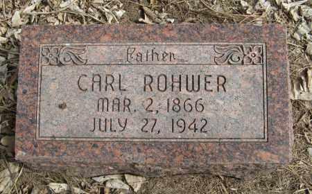 ROHWER, CARL - Washington County, Nebraska | CARL ROHWER - Nebraska Gravestone Photos